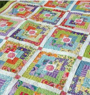 Village Green Quilt Pattern by Amanda Murphy Design