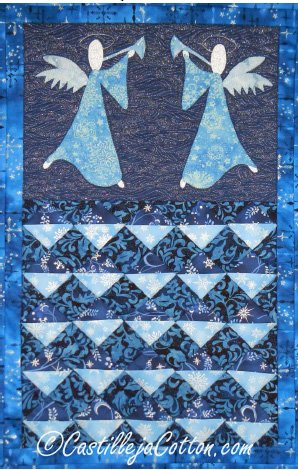 Angel Advent Calendar Epattern by Castilleja Cotton