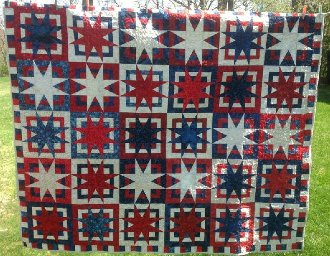 Box of Stars Quilt Pattern in 6 Sizes by A Quilter's Dream