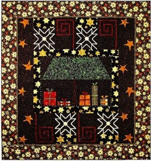 Dreaming of Christmas Throw or Wallhanging Pattern by A Quilter's Dream
