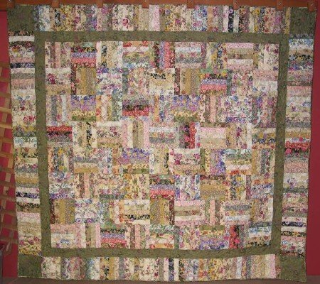 Garden Rows Quilt Pattern by A Quilter's Dream