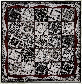Just Wing It Quilt Pattern in 2 Sizes by A Quilter's Dream
