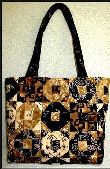 Manhattan Tote Bag Pattern by A Quilter's Dream
