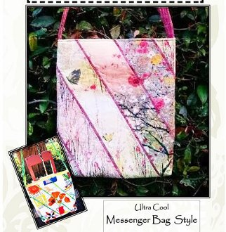 Napa Messenger Style Bag Pattern by A Quilter's Dream
