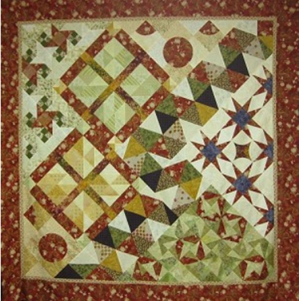 Sample This Quilt Pattern by A Quilter's Dream