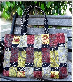 Sausalito Bag Pattern by A Quilter's Dream