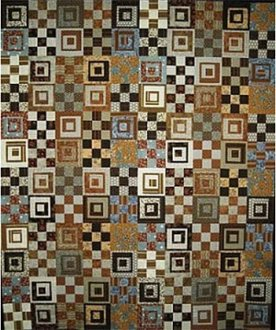 Square Root of Nine Quilt Pattern by A Quilter's Dream