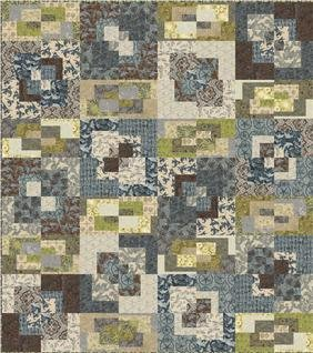 Tile Style Quilt Pattern in 3 Sizes by A Quilter's Dream