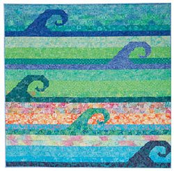 Wave To The Crowd Quilt Pattern by A Quilter's Dream