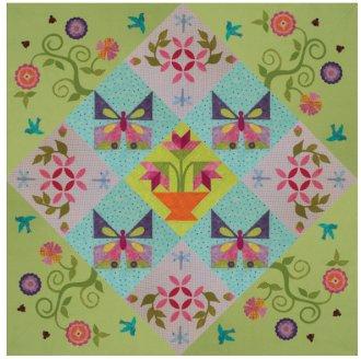 Garden Delights Quilt Pattern by Annie Smith