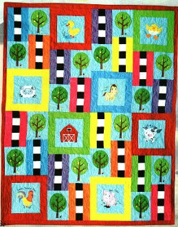 Applewood Farms Quilt Pattern and CD by Amelie Scott Designss