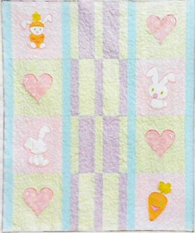 Bunny Luv Quilt Pattern by Amelie Scott Designs