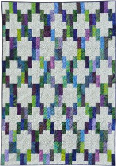 Chain Reaction Quilt Pattern by Amelie Scott Designss