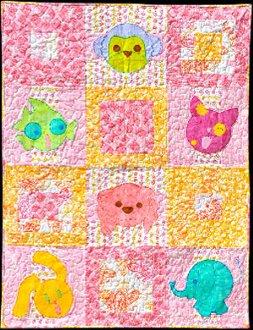 Chibi Buddies Quilt Pattern by Amelie Scott Designs