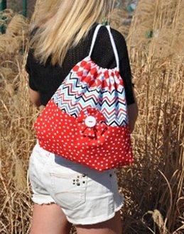 Katie's Draw-String Bag Pattern by Amelie Scott Designss