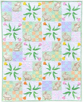 Stop and Smell the Tulips Quilt Pattern by Amelie Scott Designss