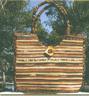 Bali Briefcase Pattern by Aunties Two