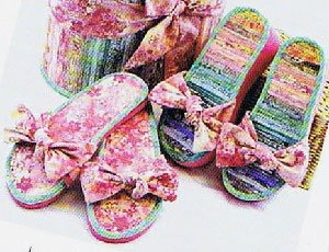909413669 Bow n Go Flip Flops Pattern by Aunties Two