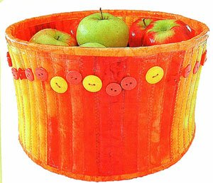 Modern Fruit Bowl Pattern by Aunties Two