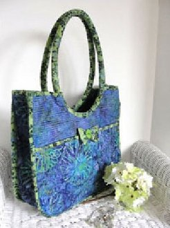Old Port Carryall Bag Pattern by  Aunties Two
