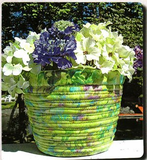 Pretty Pots Plant Pot Pattern by Aunties Two