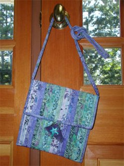 Thimballina Bag Pattern by Aunties Two