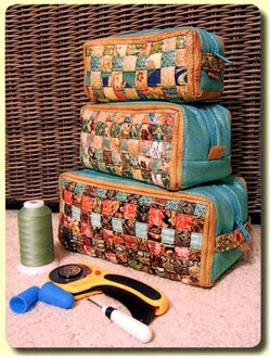 Woven Ditty Bag Pattern by Aunties Two