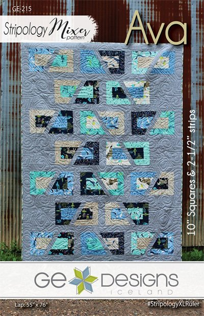 Ava Quilt Pattern in 3 Sizes by GE Designs