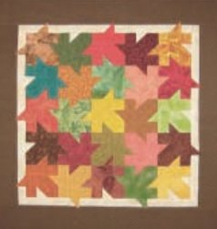 Fallen Leaves Quilt Pattern by A Very Special Collection