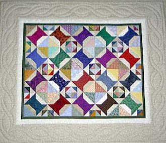 Scrap Happy Spools Quilt Pattern by A Very Special Collection
