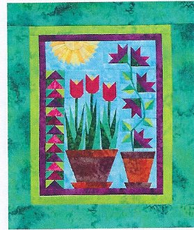 Think Spring Little Quilt Pattern by A Very Special Collection
