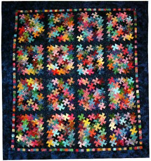 Charmed Twister Quilt Pattern in 3 sizes by Amy's Wagon Wheel Creations