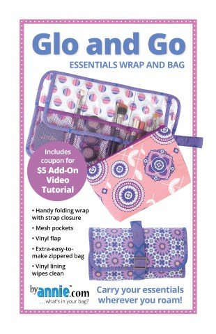 Glo and Go Essentials Wrap and Bag Pattern by ByAnnie