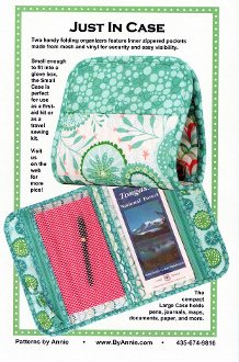 Just in Case Folding Organizer Pattern in 2 Sizes by ByAnnie