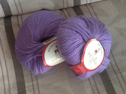 Baby Alpaca DK Yarn by Plymouth Color 1720 Periwinkle