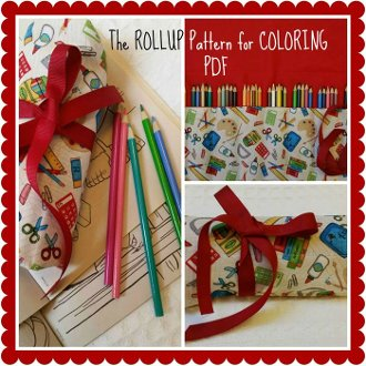 The Rollup For Coloring Pattern by Betty Alderman Designs