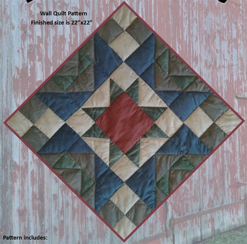Barn Star Quilt Kit by Rachels of Greenfield