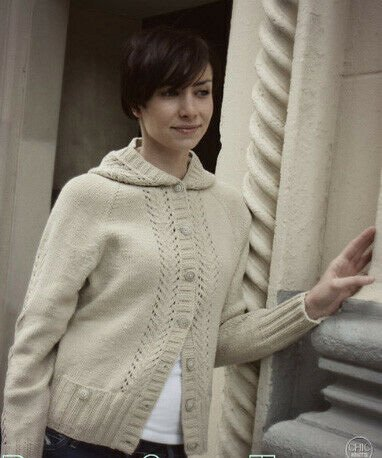 Basic Chic Hoodle Hand Knitting Pattern by Chic Knits