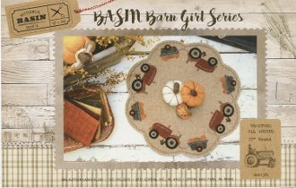 Tractors All Around Table Mat Pattern by Buttermilk Basin