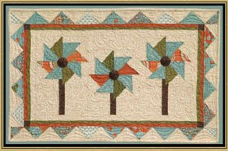 March Pocket Wallhanging Pattern by Briarwood Cottage