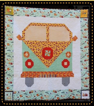 Beep Quilt Pattern by Kelli Fannin Designs