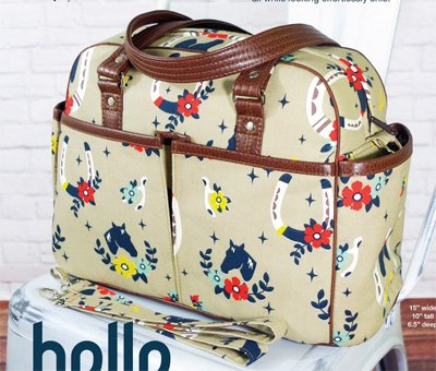 Belle Baby Bag Pattern by Swoon Sewing Patterns