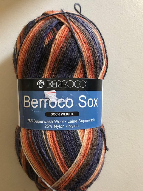 Berroco Sox Sock Yarn Padarn 1404