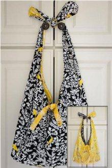 Knot Handle Reversible Tote Bag Pattern by Barbara Huber Design
