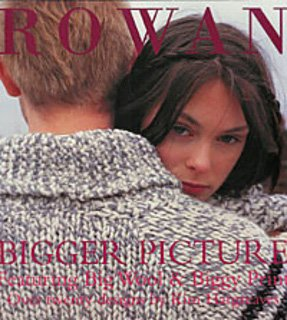 Bigger Picture Knitting Pattern Book by Kim Hargreaves