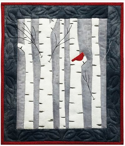 Birches Wall Quilt Kit by Rachel's of Greenfield