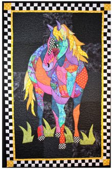 Cheyenne Horse Wallhanging Pattern by BJ Designs