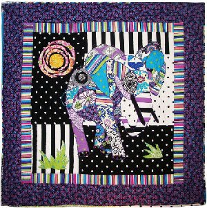 Ellie The Elephant Quilt Pattern by BJ Designs