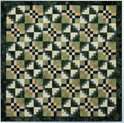 Blockade Quilt Pattern by Cindi McCracken Designs