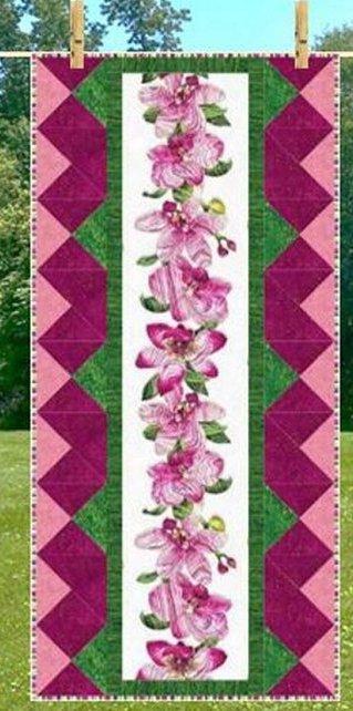 Border Stripe Love Runner Pattern by Cathey Marie Designs